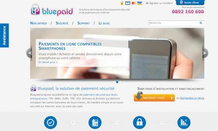 Refonte bluepaid